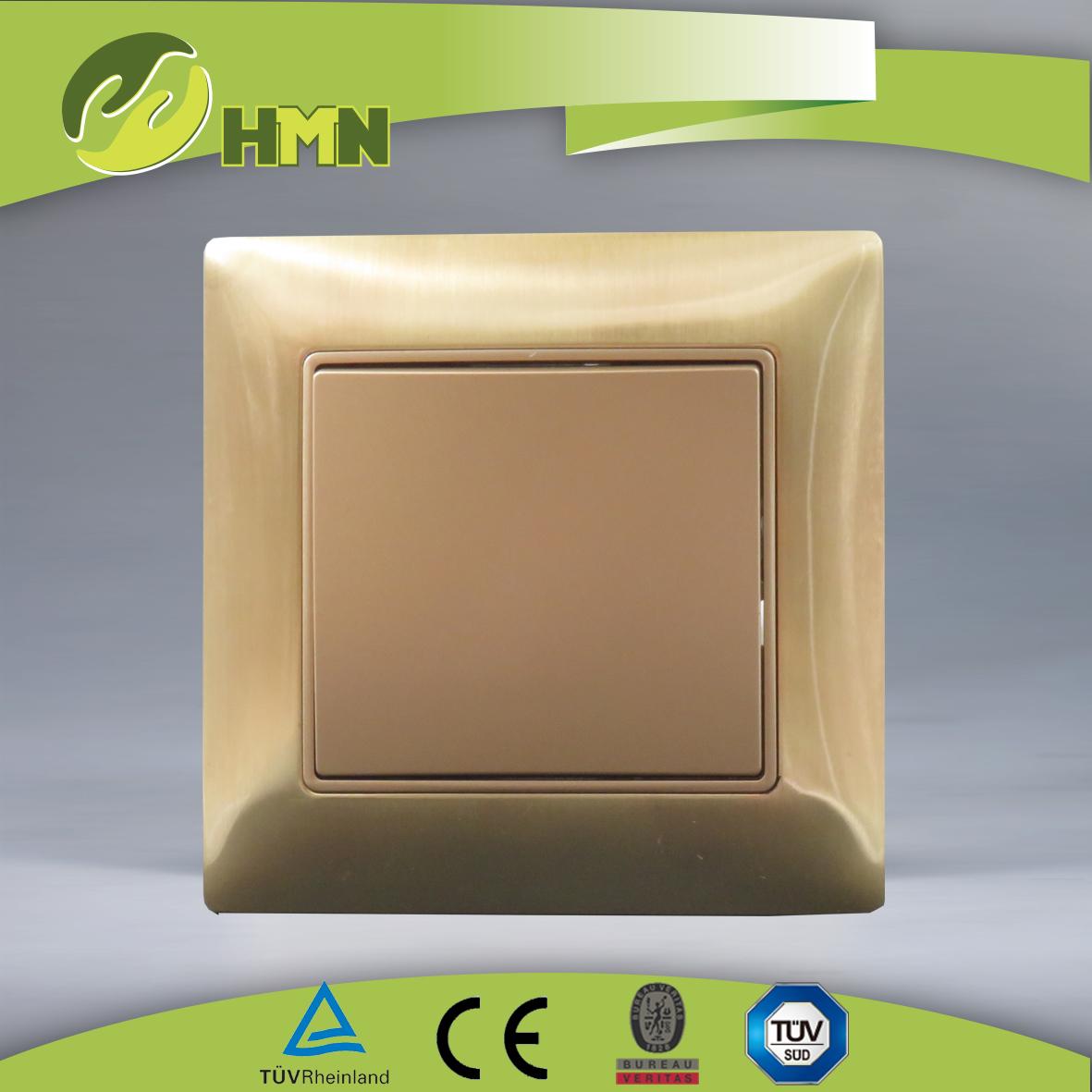 VZ111/VZ112 Metal Zinc 1gang 1way/2way switch