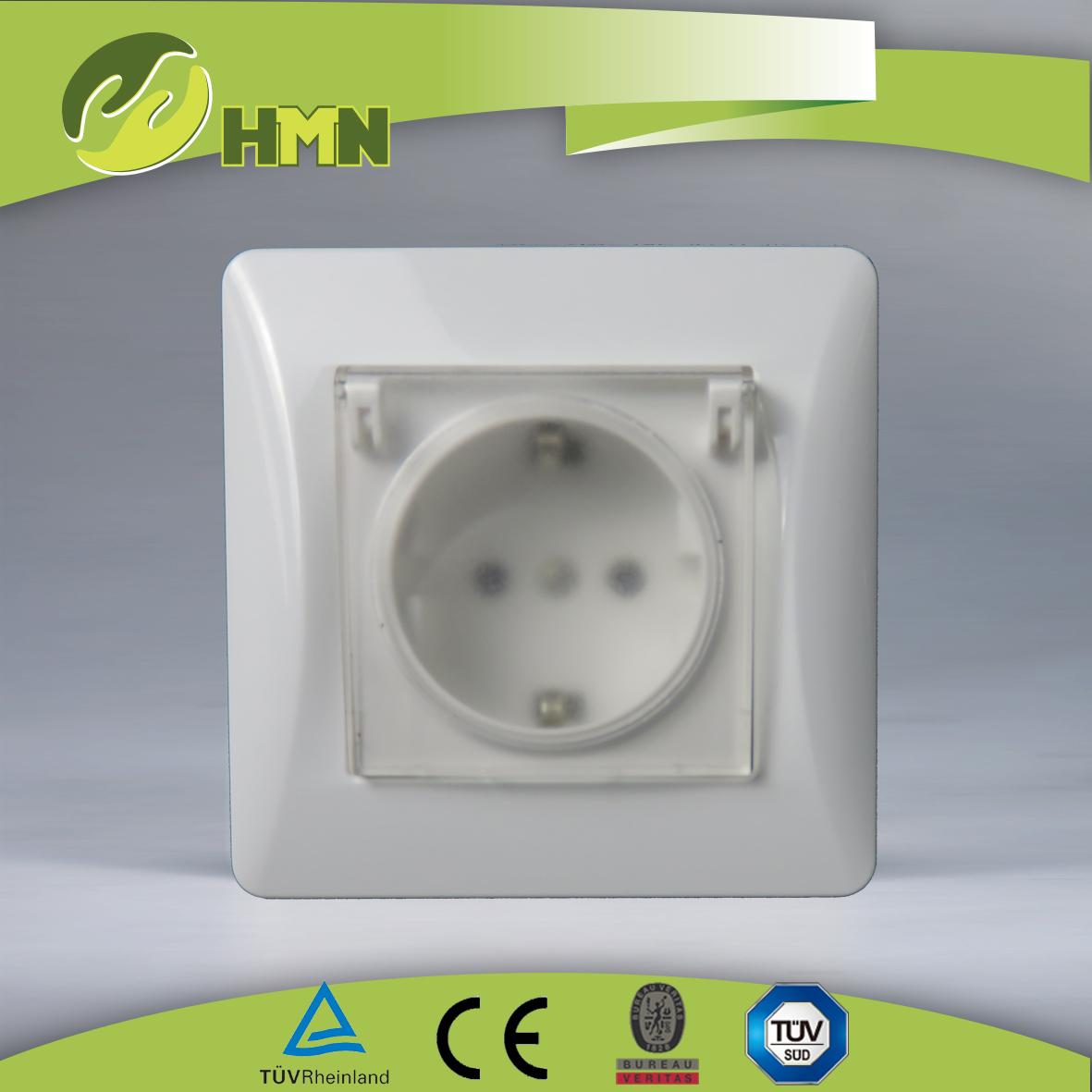 H159    water proof Schuko socket