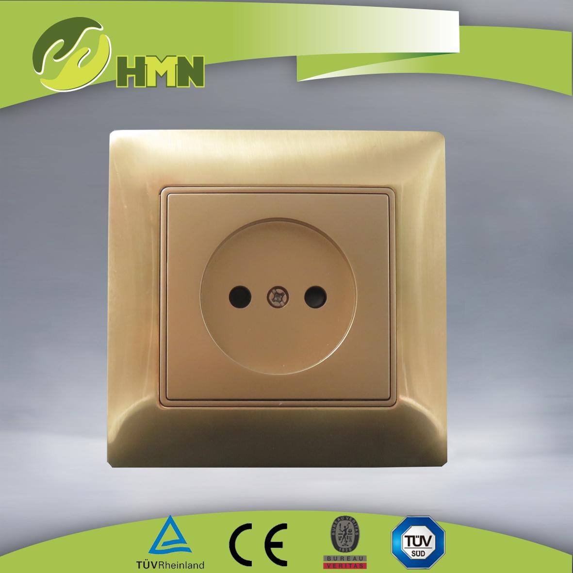 VZ129 Metal Zinc 1gang Russian socket