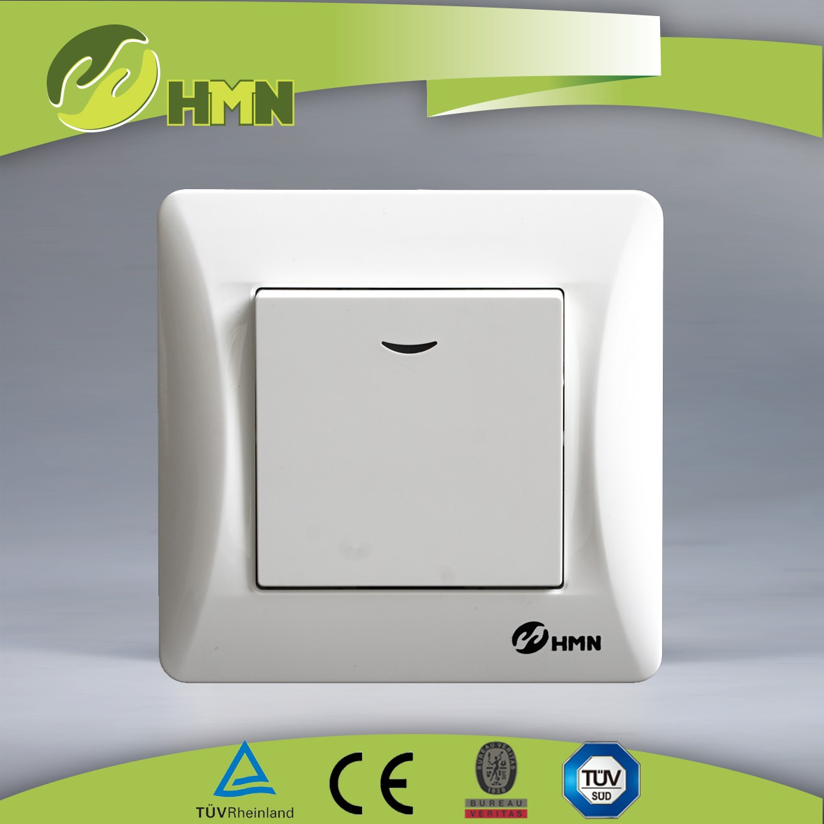 H111N/H112N   1gang 1way/2 way switch  W/N